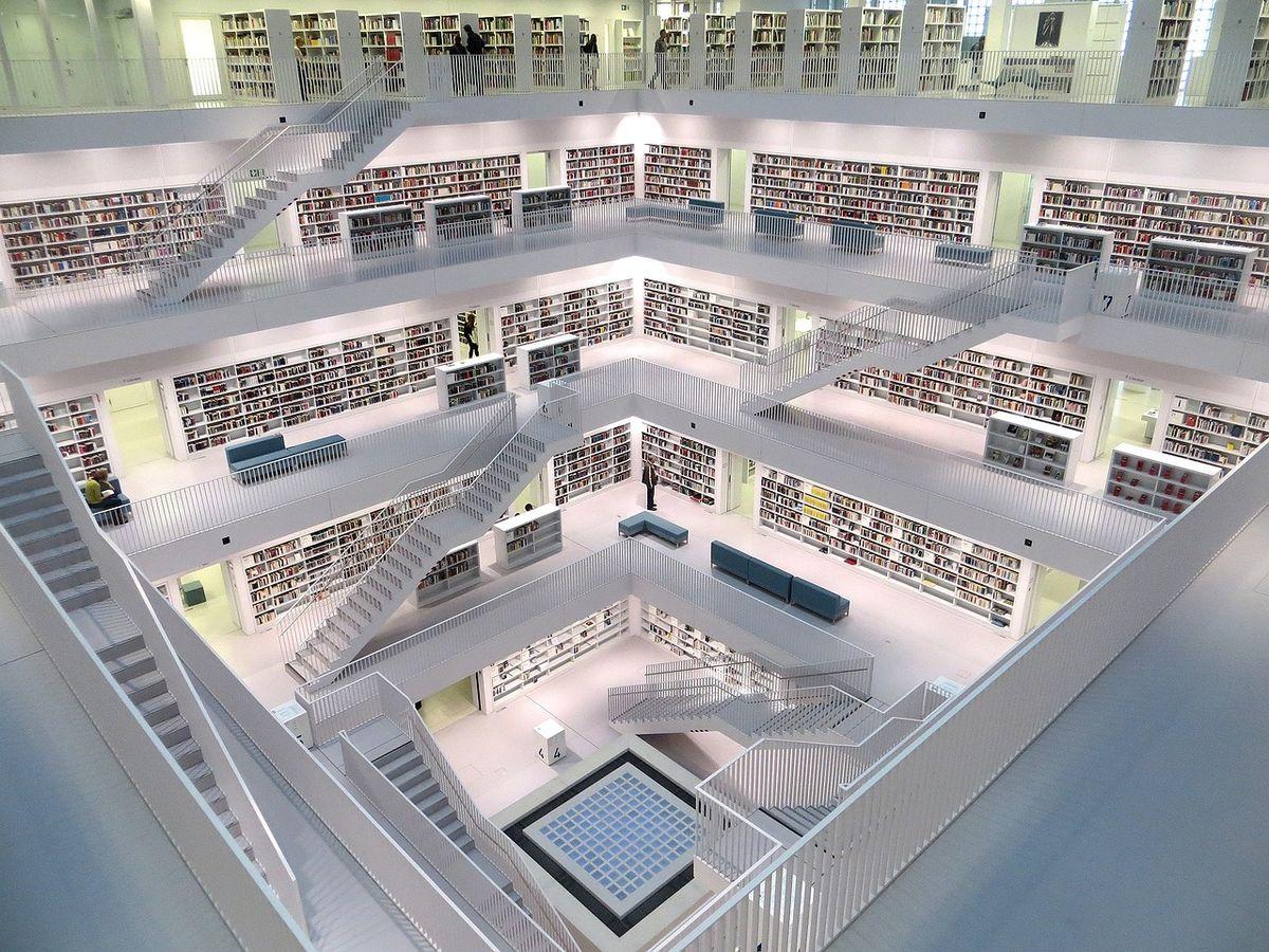 Die neue Stuttgarter Bibliothek / Stadtbücherei