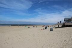 Der Strand in Breskens ist wirklich breit