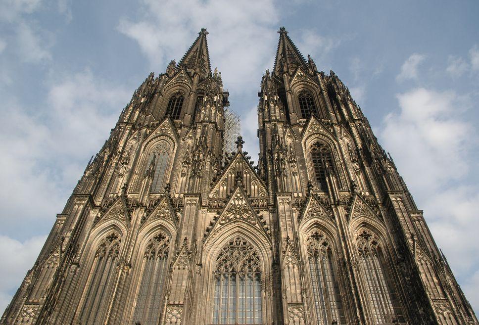 Der Kölner Dom (Front)