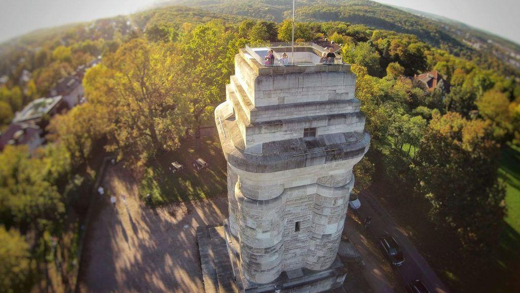 Der Bismarckturm in Stuttgart
