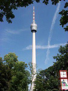 Fernsehturm in Stuttgart-Degerloch