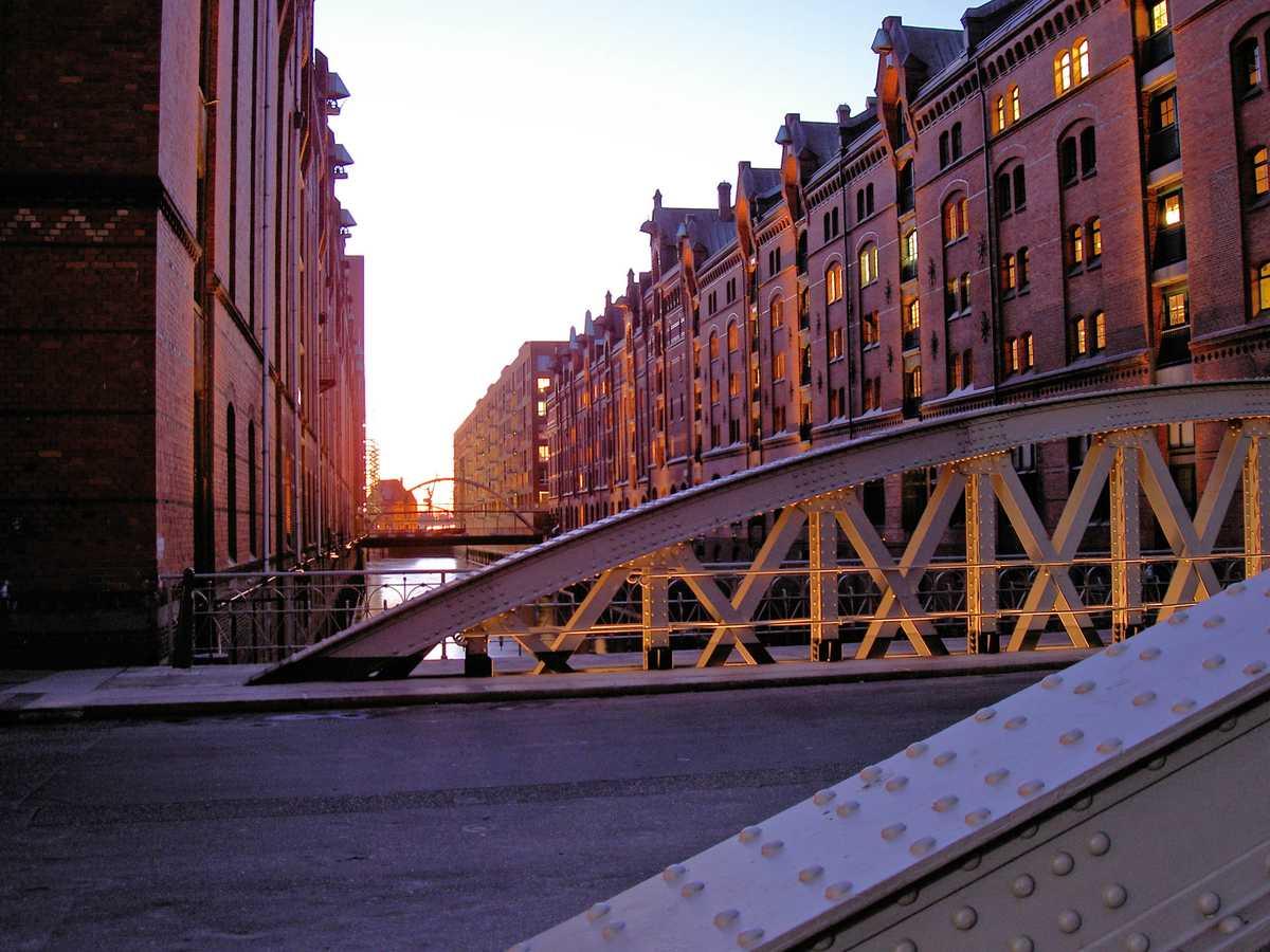 Hamburg - die Speicherstadt
