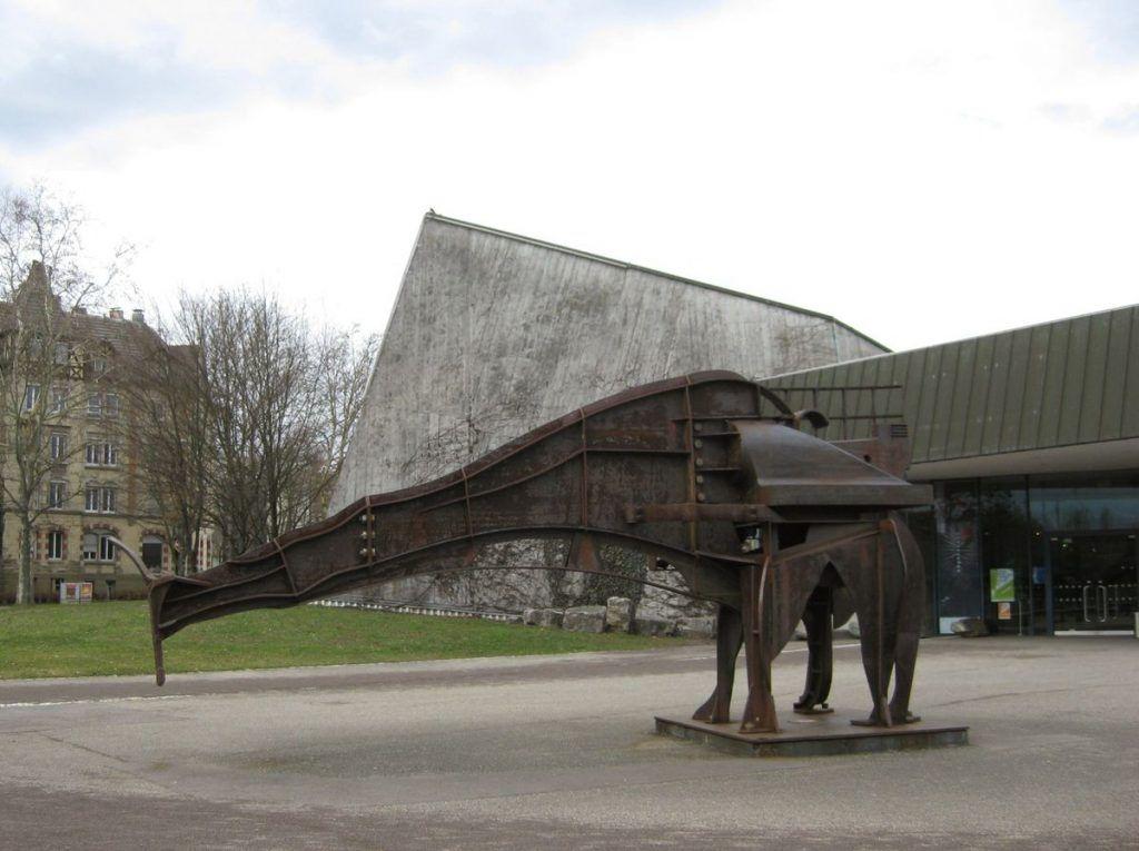 Naturkundemuseum am Löwentor (oberer Eingang des Rosensteinparks)
