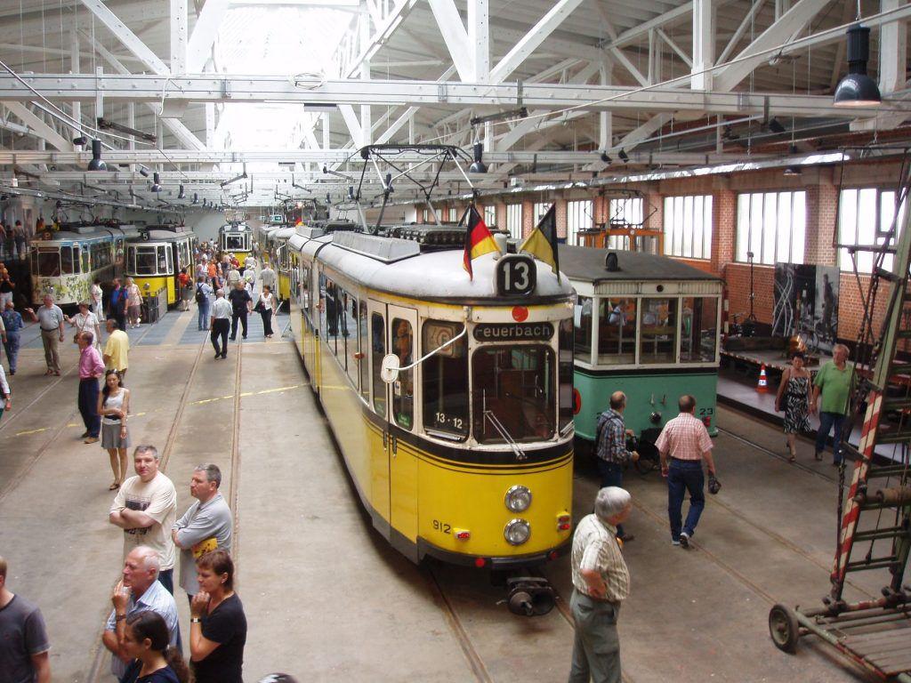 Die Stuttgarter Strassenbahnwelten der SSB