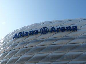 Ein Bild von der Allianz Arena