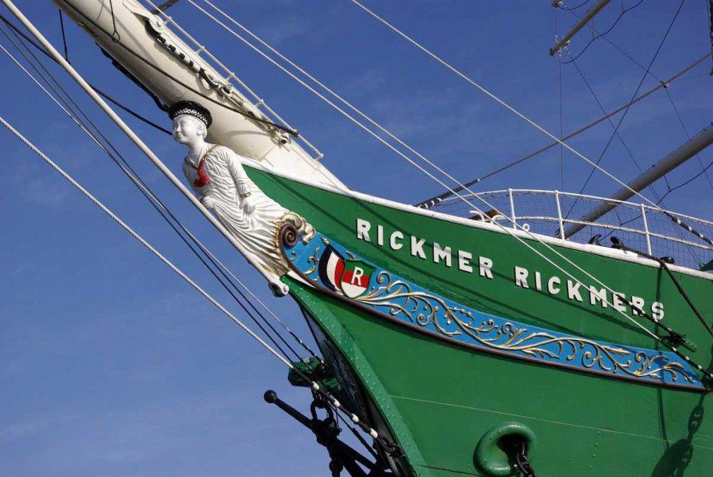 Die Rickmer Rickmers im Hafen