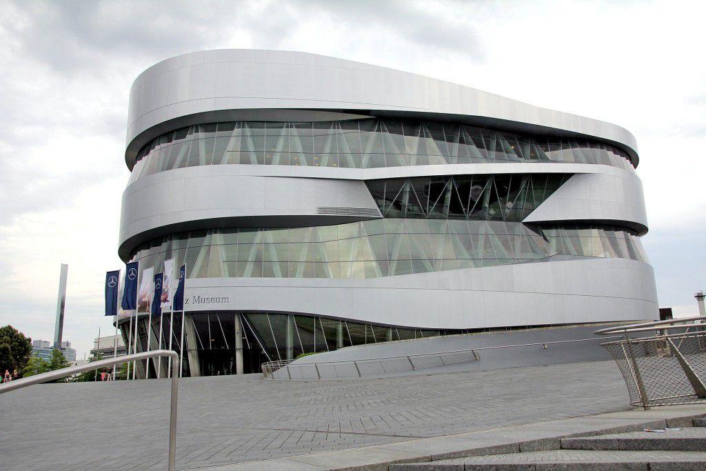 Mercedes benz Museum in Stuttgart-Untertürkheim