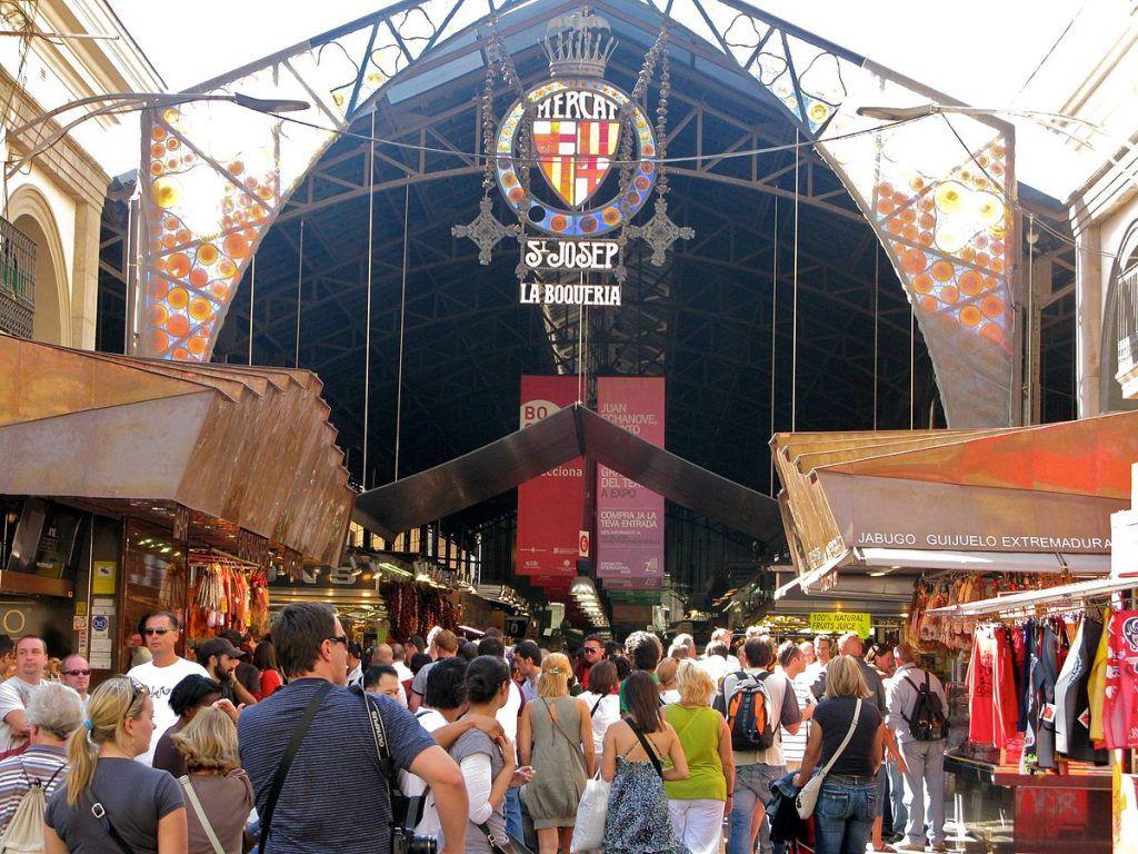 Shopping Markt La Boqueria