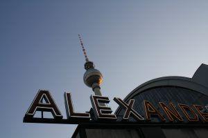 Alexanderplatz und der Fernsehturm