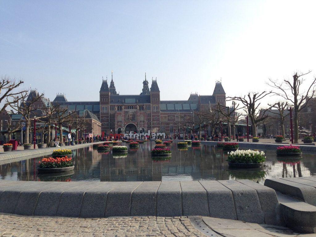 Das Rijskmuseum in Amsterdam