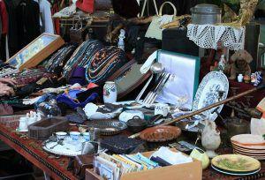 Bild von Flohmarkt beim Shopping in Berlin