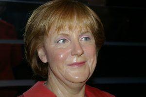 Bundeskanzlerin Angela Merkel als Wachsfigur
