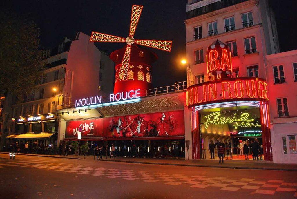 Das Moulin Rouge in Paris