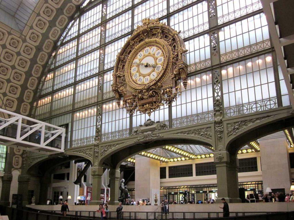 Herrliche Architektur im Musée d'Orsay