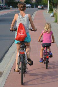 In Holland gibt es praktisch überall Radwege