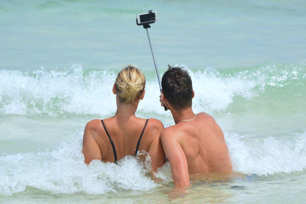 Kommt nicht überall gut an: Freizügigkeit am Strand