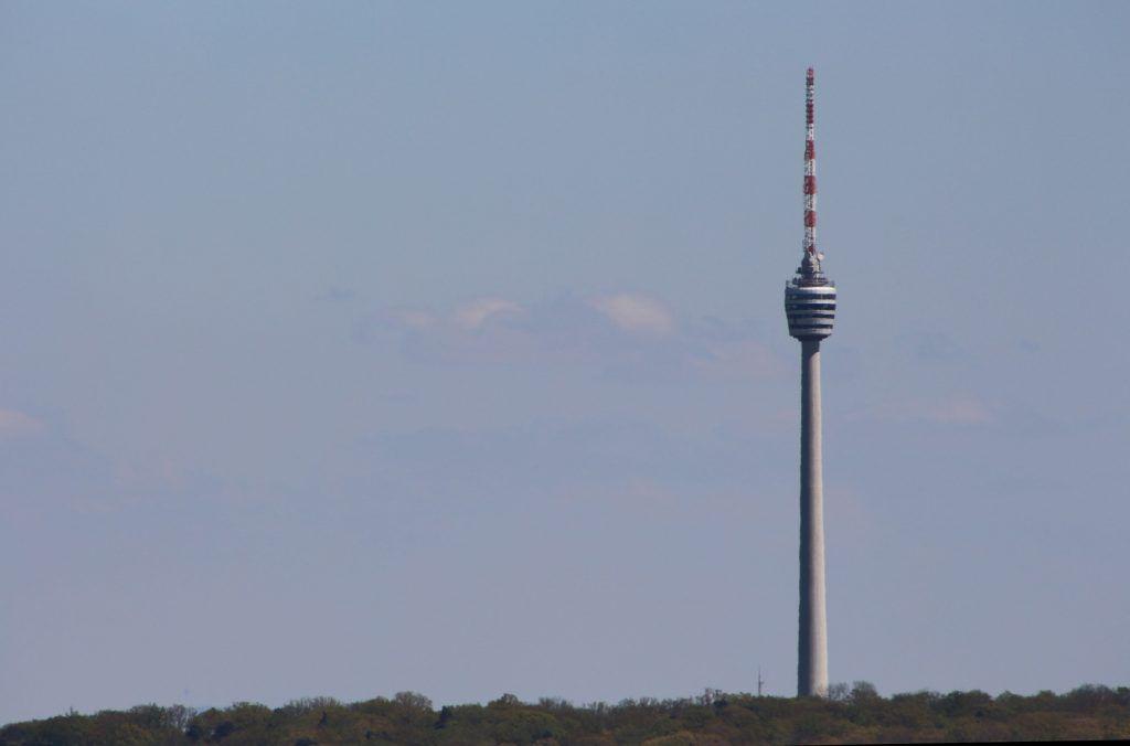 Blick vom Birkenkopf zum Stuttgarter Fernsehturm