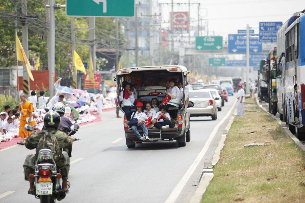 """""""Kreativer"""" Verkehr in Thailand"""