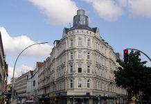"""Das """"Schulterblatt"""" - rechts die Schanzenstrasse"""