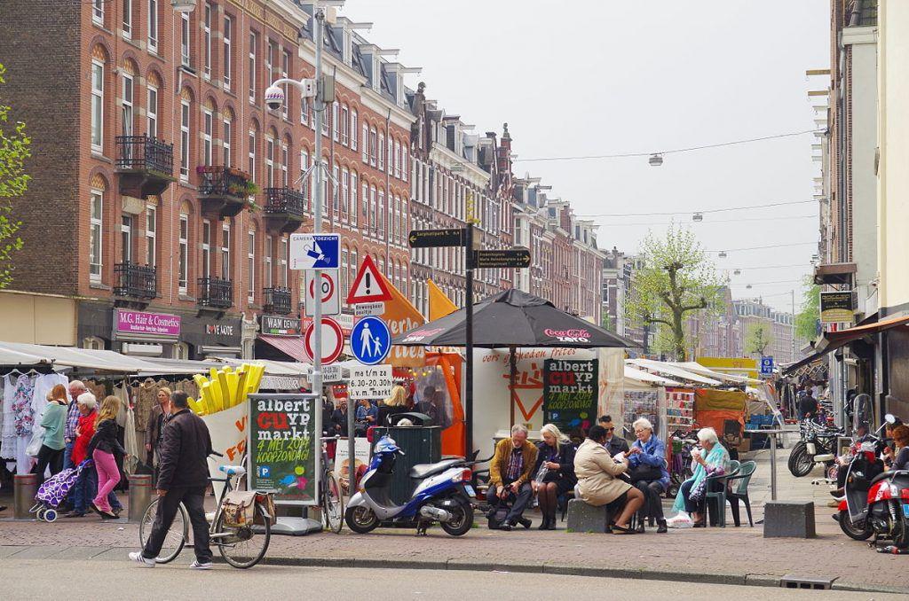 "Der ""de Cuyp"" - Der Albert Cuyp Markt in Amsterdam"