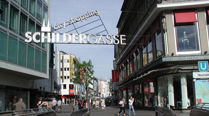 Koeln Neumarkt Schildergasse