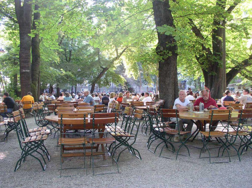 Was wäre München ohne einen Biergarten