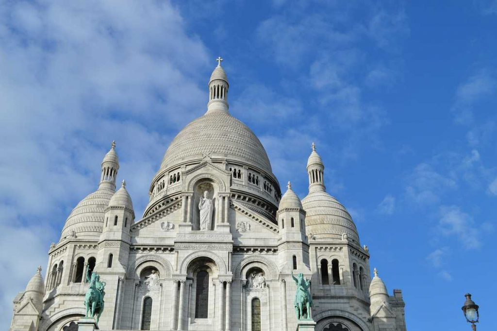 Die Basilika von Sacre Coeur