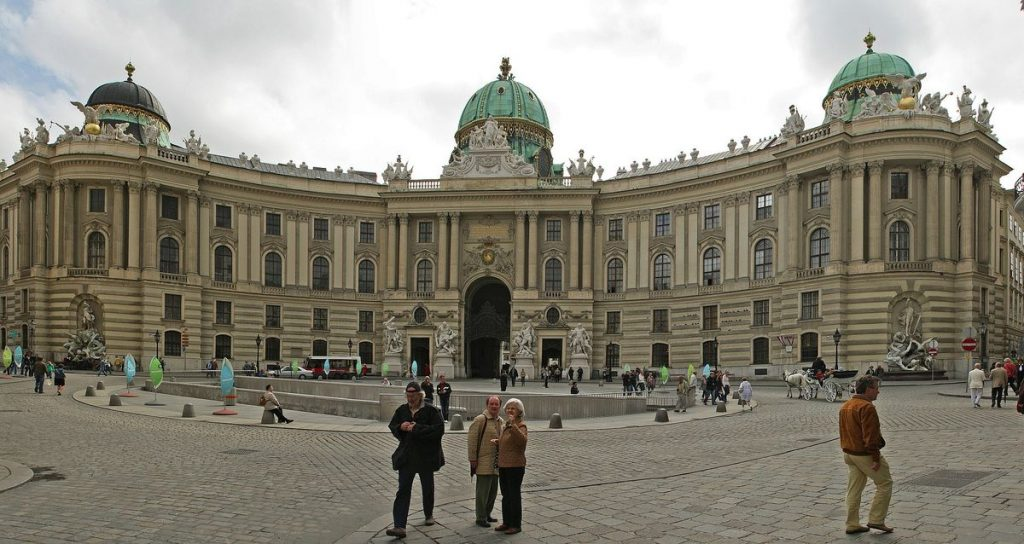 One of the most beautiful sights: The Vienna Hofburg