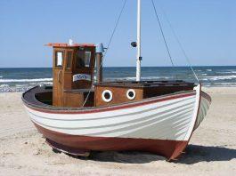 Boot auf Strand